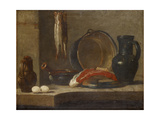 Still Life of Kitchen Utensils, C.1733-34 Giclee Print by Jean-Baptiste Simeon Chardin