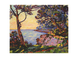 The Coast from L'Esterel, C.1902 Giclee Print by Jean Baptiste Armand Guillaumin