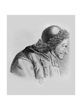Portrait of Voltaire Giclee Print by Jean Huber