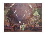 A Bazaar in Constantinople, 1873 Giclee Print by Jean Brindesi