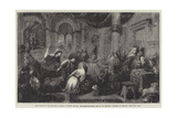 Christ Driving the Money-Changers Out of the Temple Giclee Print by Jacopo Bassano