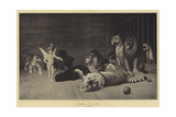 Tamed by Cupid Giclee Print by Jean Leon Gerome