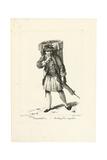 Baker of Craquelins, 1775 Giclee Print by Johann Christian Brand