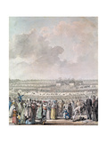 The Festival of the Federation at the Champ De Mars, 14 July 1790 Giclee Print by Jacques Francois Joseph Swebach
