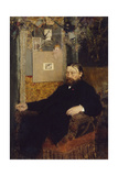 The Composer Peter Benoit, 1883 Giclee Print by Jan van Beers