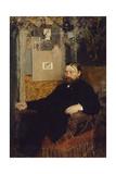 The Composer Peter Benoit, 1883 Giclee Print by Jan van Beers