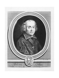 Portrait of Antoine Godeau Giclee Print by Jacques Lubin