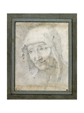 Head of an Old Woman Giclee Print by Jacques Stella