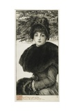 A Winter's Walk, 1880 Giclee Print by James Jacques Joseph Tissot