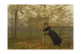 Autumn Regrets, 1882 Giclee Print by John Atkinson Grimshaw