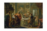 The Pleasures of the Seasons: Winter, C.1730 Giclee Print by Johann Georg Platzer