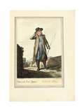 The Coachman; Cocher De Place, 1781 or Later Giclee Print by Johann Christian Brand