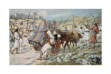 The Chastisement of Uzzah Giclee Print by James Jacques Joseph Tissot