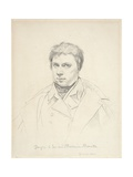 Self-Portrait, 1822 Giclee Print by Jean Auguste Dominique Ingres