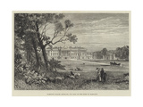 Hamilton Palace, Scotland, the Seat of the Duke of Hamilton Giclee Print by James Burrell Smith
