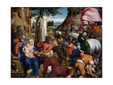 The Adoration of the Kings, Early 1540s Giclee Print by Jacopo Bassano