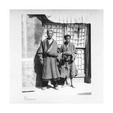 Prisoners, Tibet, 1903-04 Giclee Print by John Claude White