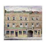 Curriers' Hall, 1850 Giclee Print by John Burell Read
