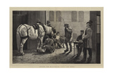 Before the Magistrate, Unfit for Work Giclee Print by John Charles Dollman