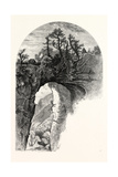Natural Bridge, Virginia Giclee Print by John Douglas Woodward