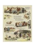The Fox O'One Tree Hill Giclee Print by John Charles Dollman