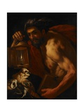 Diogenes Giclee Print by Johann Karl Loth