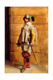 The Cavalier, Portrait of the Artist, 1872 Giclee Print by Jean-Louis Ernest Meissonier
