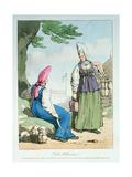 Ocheta Milkcow Woman, 1803 Giclee Print by John Augustus Atkinson
