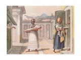 Travelling Saleswomen in Rio De Janeiro in 1827 Giclee Print by Jean Baptiste Debret
