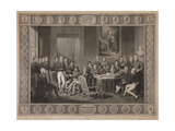 Congress of Vienna, Plenipotentiary Session, 1819 Giclee Print by Jean-Baptiste Isabey