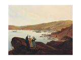 El Membrillo Beach, Near Valparaiso, 1844 Giclee Print by Johann Moritz Rugendas