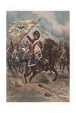 Retour De La Charge, 1806, 1898 Giclee Print by Jean-Baptiste Edouard Detaille