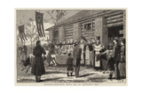 Russia, Blessing Cows on St George's Day Giclee Print by John Charles Dollman