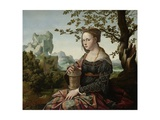 Mary Magdalene, C.1530 Giclee Print by Jan van Scorel