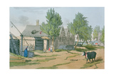 A Russian Village, 1804 Giclee Print by John Augustus Atkinson
