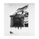 Entrance to Potala, Lhasa, Tibet, 1903-04 Giclee Print by John Claude White