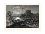 Old Fort Dumpling, Newport Giclee Print by John Douglas Woodward