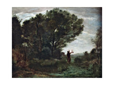 Orpheus Giclee Print by Jean Baptiste Camille Corot