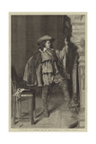 The Cavalier, from the Winter Exhibition, No 7, Haymarket Giclee Print by Jean-Louis Ernest Meissonier