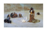 Study for 'The Unknown', 1912 Giclee Print by John Charles Dollman