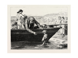 The Fisherman's Darling Giclee Print by John Dawson Watson