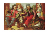 The Poultry Vendors, Signed and Dated 1st September 1563 Giclee Print by Joachim Beuckelaer