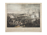 The Flight of Napoleon at the Battle of Waterloo Giclee Print by Johann Lorenz Rugendas