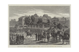 The Palace of Prince Alexander of Bulgaria at Sofia Giclee Print by Johann Nepomuk Schonberg
