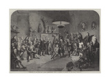 Portraits of All the First Royal Academicians Giclee Print by Johann Zoffany