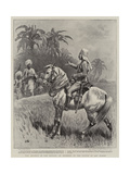 The Advance in the Soudan, an Incident of the Battle of Abu Hamed Giclee Print by John Charlton