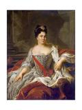 Catherine I, 1717 Giclee Print by Jean-Marc Nattier