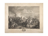 The Battle of Waterloo, Engraved by John Burnet, 1819 Giclee Print by John Augustus Atkinson