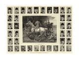 Leading Masters of Hounds, II Giclee Print by John Charlton