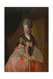 Sophie Charlotte, Queen of England, 1779 Giclee Print by Johann Zoffany